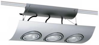 "Juno 22"" 1/4"" Wide Silver Track Light (29881)"