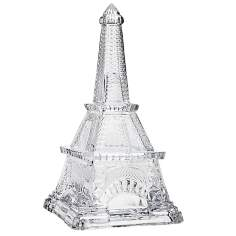 Godinger Large Eiffel Tower Covered Crystal Box