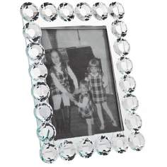 "Godinger Carissa 5""x7"" Crystal Photo Frame"