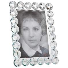 "Godinger Carissa 4""x6"" Crystal Photo Frame"