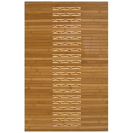 Natural Bamboo AMB0090 Kitchen and Bath Mat