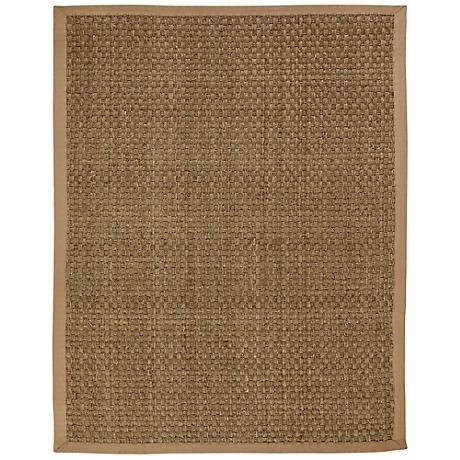 Moray Seagrass AMB0118 Tan Indoor-Outdoor Rug