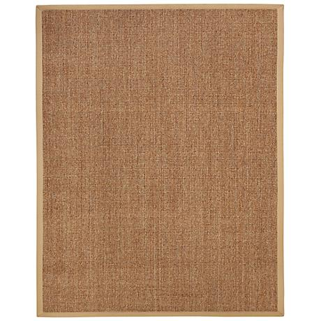 Kingfisher Sisal AMB0120 Burnt Gold Indoor-Outdoor Rug