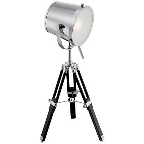 Lite Source Trey Tripod Director's Table Lamp