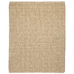Zatar Jute & Wool AMB0308 Beige and Ivory Area Rug