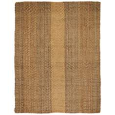 Sahara Jute AMB0324 Beige Striped Area Rug