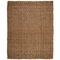 Perfect Diamond Jute AMB0325 Tan Area Rug