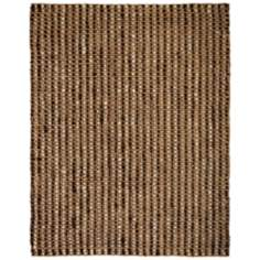 Chesterfield Jute AMB0326 Dark Brown Area Rug