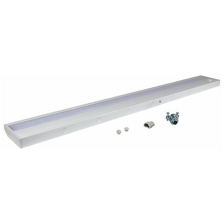 "LED Complete White 32 3/8"" Wide Under Cabinet Light"
