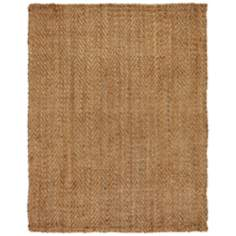 Mirage Jute AMB0327 Tan Area Rug