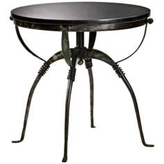 Small Natural Iron and Granite San Francisco Table
