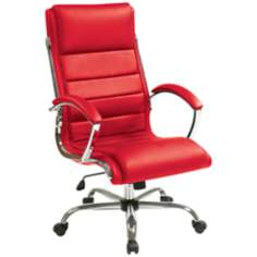 Red Bassett Ellis Executive Desk Chair