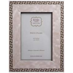 "Greek Key 8""x10"" Marquetry Picture Frame"
