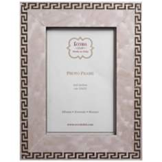 "Greek Key 4""x6"" Marquetry Picture Frame"