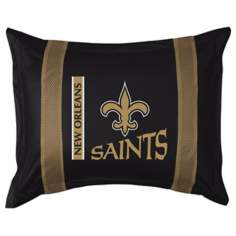 NFL New Orleans Saints Sidelines Pillow Sham