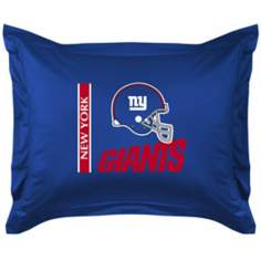 NFL New York Giants Locker Room Pillow Sham
