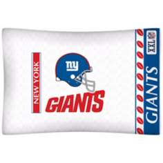 NFL New York Giants Sidelines Pillow Case