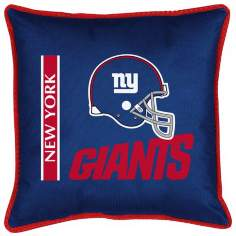 NFL New York Giants Sidelines Pillow