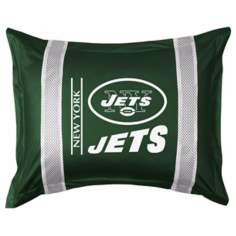 NFL New York Jets Sidelines Pillow Sham