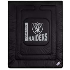 NFL Oakland Raiders Locker Room Comforter
