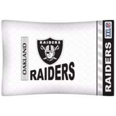 NFL Oakland Raiders Sidelines Pillow Case