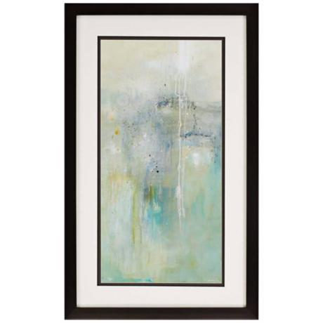 "Sparks of Sea 46"" High Wall Art"