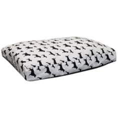 "Best Friends 36"" Wide Medium White Pet Bed"