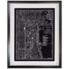 "1895 Chicago 30"" High Framed Wall Art"