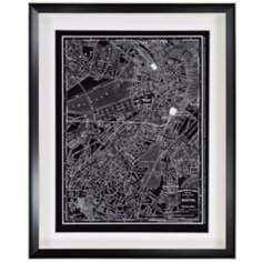 "1895 Boston 30"" High Framed Wall Art"