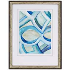 "Infinite Angle I 39"" High Contemporary Framed Wall Art"