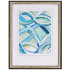 "Infinite Angle II 39"" High Contemporary Wall Art"
