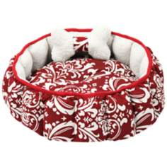 "Royal Amsterdam 18"" Wide Red Pet Bed"