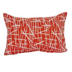 "Orange Stix 20"" Wide Down Throw Pillow"