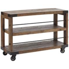Zuo Fort Mason Distressed Wood Shelf