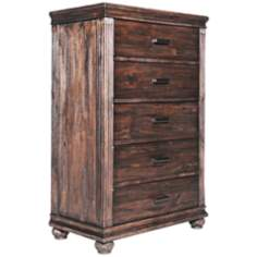 Zuo The City 5-Drawer Chest