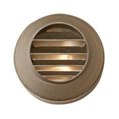 Hinkley Hardy Island Louvered Matte Bronze Deck Light