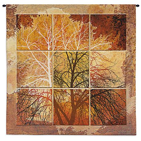 "October Light 55"" High Wall Tapestry"