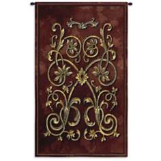 "Florette Grenat 53"" High Wall Tapestry"