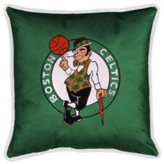 NBA Boston Celtics Sidelines Pillow