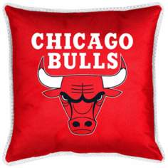 NBA Chicago Bulls Sidelines Pillow Sham