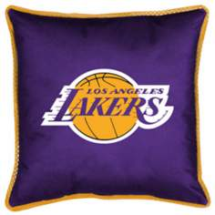 NBA Los Angeles Lakers Sidelines Pillow
