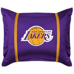 NBA Los Angeles Lakers Sidelines Pillow Sham