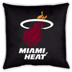 NBA Miami Heat Sidelines Pillow