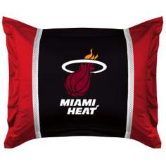 NBA Miami Heat Sidelines Pillow Sham
