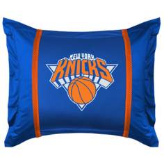NBA New York Knicks Sidelines Pillow Sham