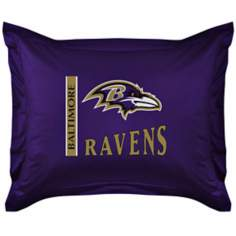 NFL Baltimore Ravens Locker Room Pillow Sham