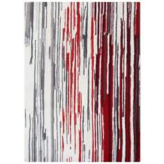 Boardwalk BWS4636 Modern Striped Area Rug