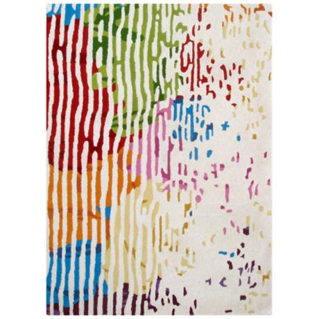 Boardwalk BWS4637 Contemporary Area Rug