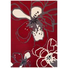 Boardwalk SWS4240 Modern Flower Area Rug