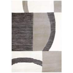 Boardwalk SWS4241 Modern Carved Area Rug